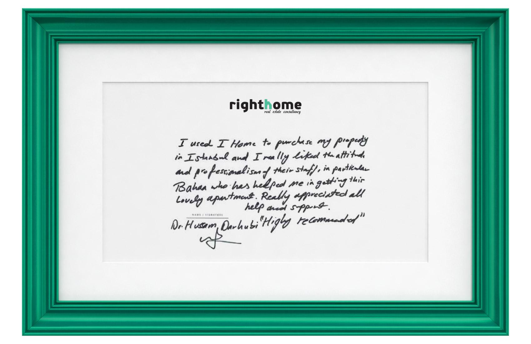 right home testimonials