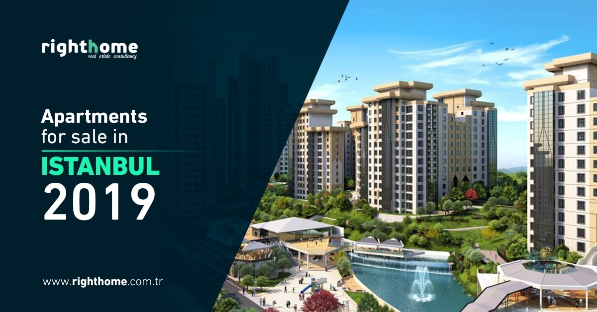 Apartments for sale in Istanbul 2019