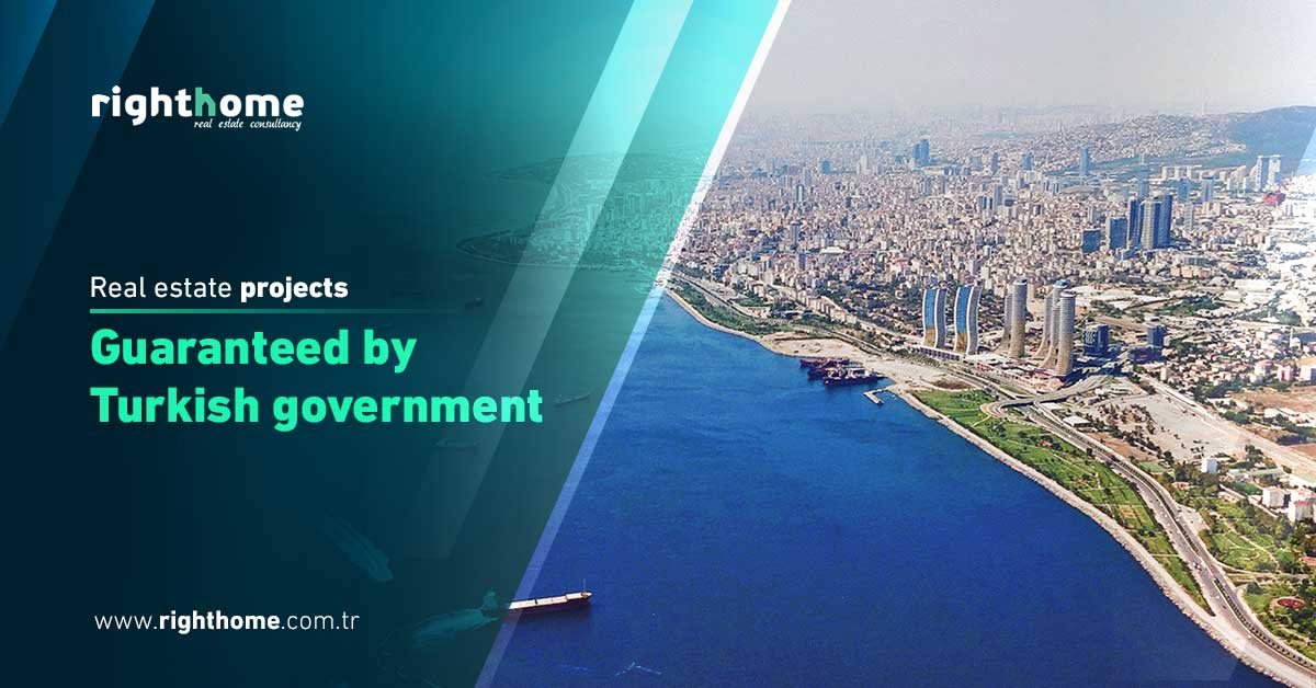 Real estate projects guaranteed by Turkish government