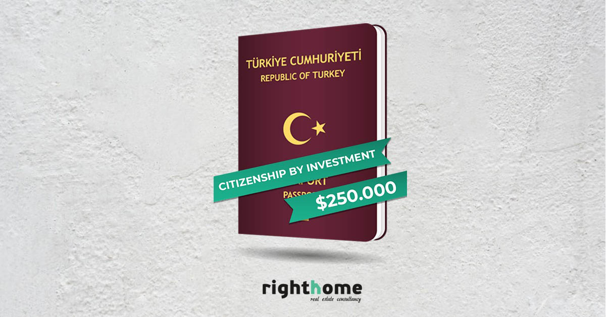 A new amendment regarding the law of obtaining Turkish citizenship under the ownership of a property in Turkey