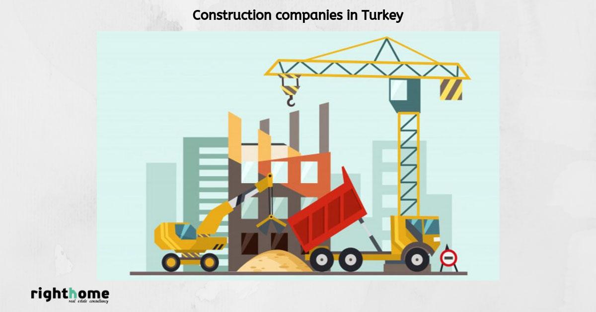 Construction companies in Turkey