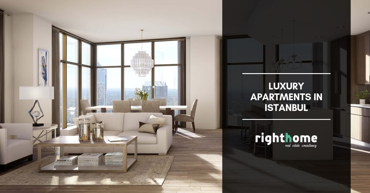 Luxury apartments in Istanbul
