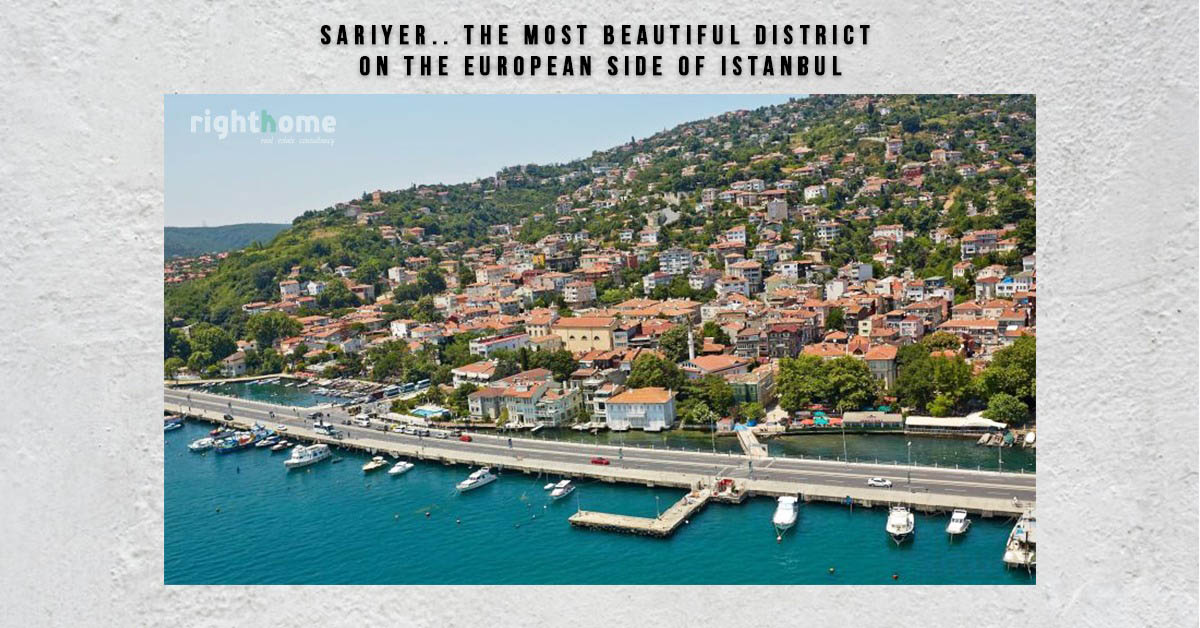 Sariyer.. the most beautiful district on the European side of Istanbul