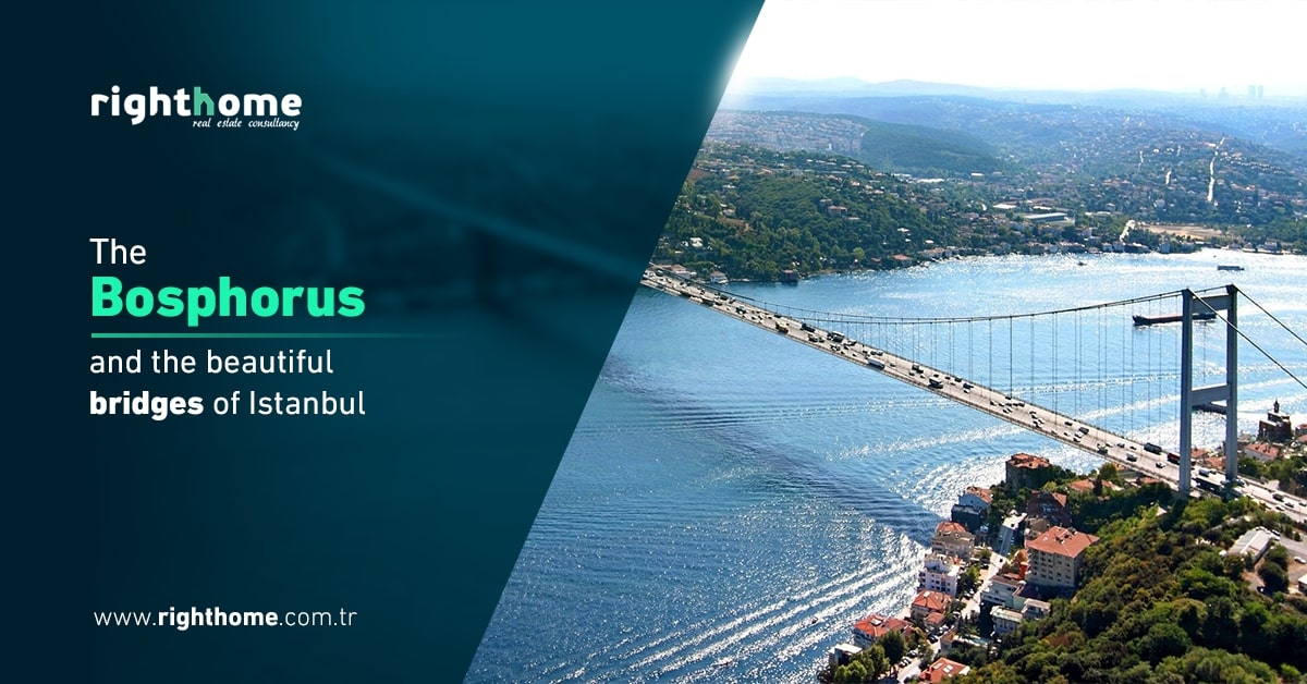 The Bosphorus , and the beautiful bridges of Istanbul