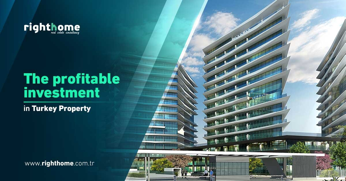 The profitable investment in Turkey property