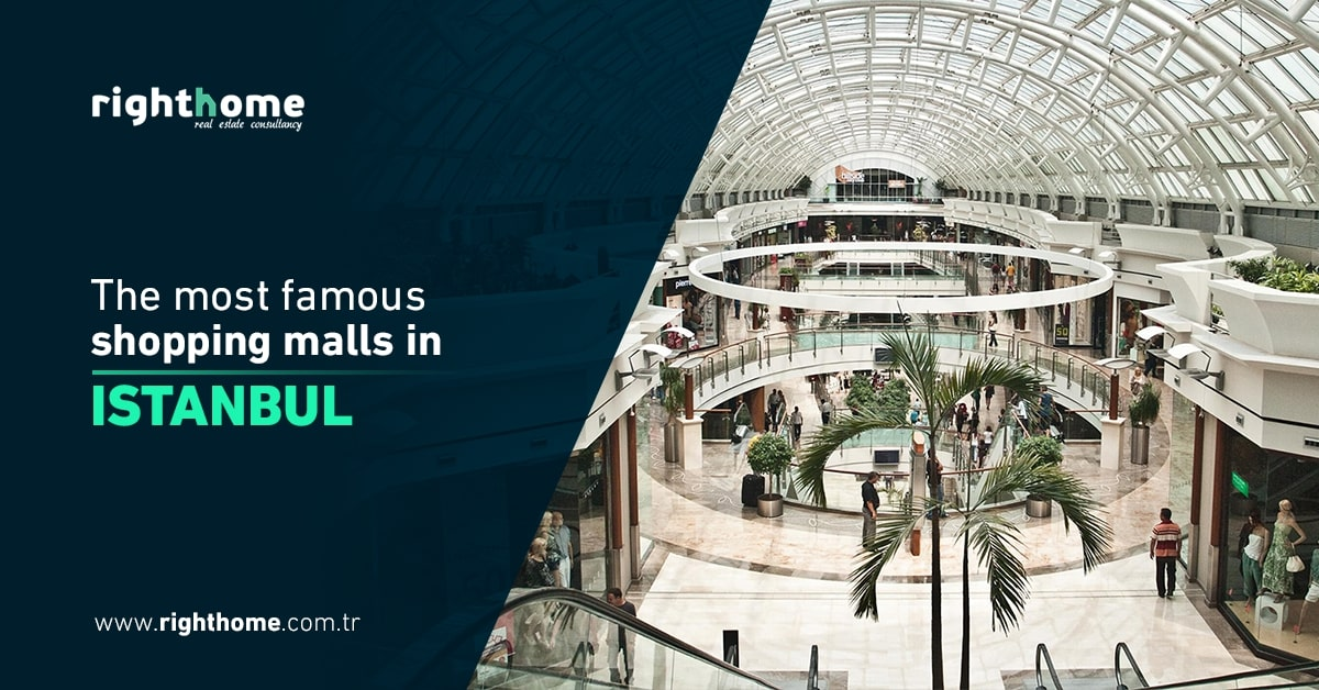 The most famous shopping malls in Istanbul