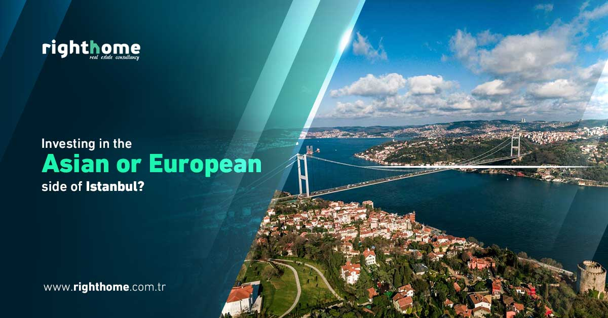 Investing in the Asian or European side of Istanbul?