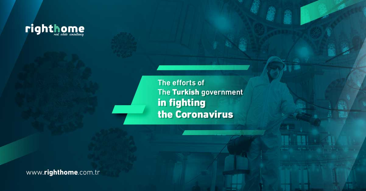 The efforts of the Turkish government in fighting the Coronavirus