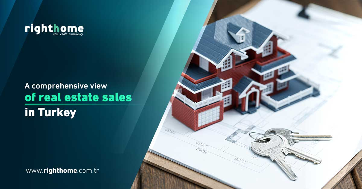 A comprehensive view of real estate sales in Turkey