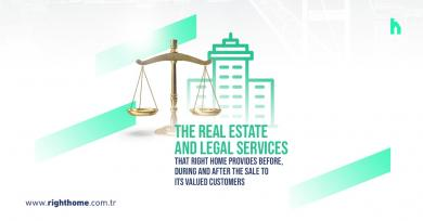 The real estate and legal services that Right Home provides before, during and after the sale to its valued customers