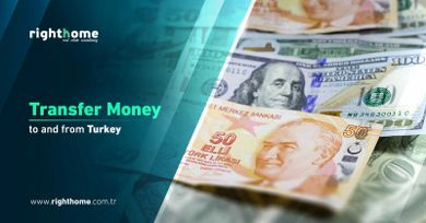 Transfer money to and from Turkey