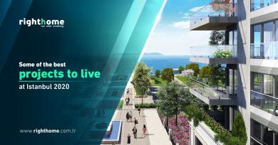some of the best projects to live at istanbul 2020