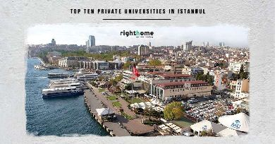 Top ten private universities in Istanbul