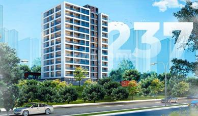 RH 237- Family wide apartments in Basaksehir, ready for housing