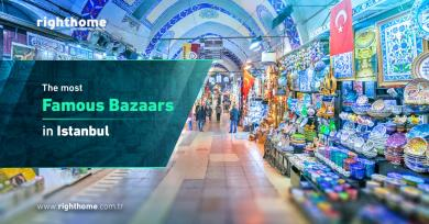 The most famous bazaars in Istanbul