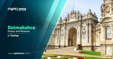 Dolmabahce Palace and Museum in Istanbul