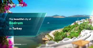 The beautiful city of Bodrum in Turkey