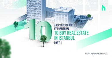 10 Areas preferred by foreigners to buy real estate in Istanbul- part 1