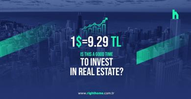 The Turkish lira is 9.29 against the dollar. Is this a good time to invest in real estate?