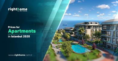 Prices for apartments in Istanbul 2020