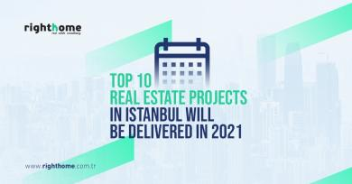 Top 10 real estate projects in Istanbul will be delivered in 2021