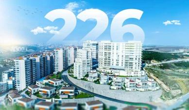 RH 226- Houses in a quiet area suitable for holidays and vacations in Bahcesehir