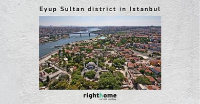 Eyup Sultan district in Istanbul