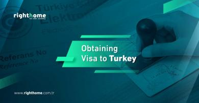 Obtaining visa to Turkey