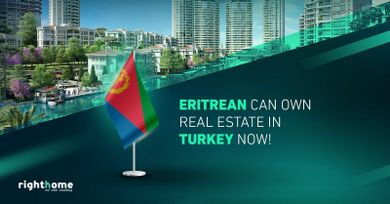 Eritrean can own real estate in Turkey now!