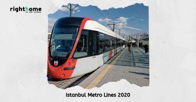 Istanbul Metro Lines 2020