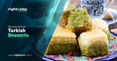 The most famous Turkish desserts