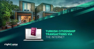 Turkish citizenship transactions via the Internet