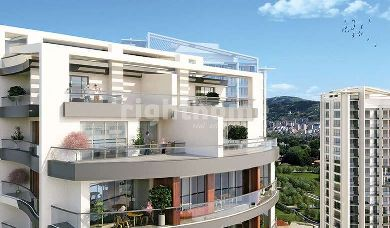 RH 162-A residential complex with a view of Belgrade Forest and Princess Islands, ready for housing