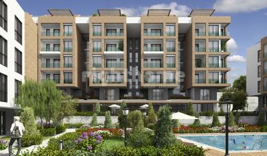RH 415 - under-construction duplex apartments close to Beylikduzu marina