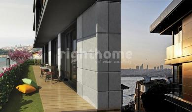RH 248 - Ready apartments with a direct view of Bosphorus in Uskudar