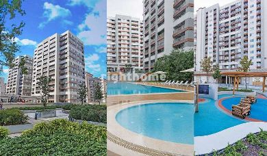 RH 130-Houses of Beylikduzu park in Istanbul, ready to move apartments