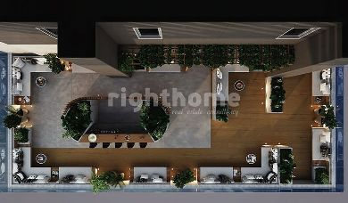 RH 188-Under Construction apartment in Maslak with Belgrad view