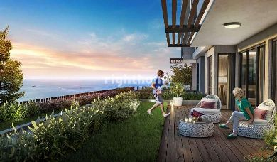 RH 136-Houses under construction in the marina with direct sea view and appropriate payment plans