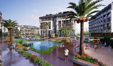 RH 307 - Luxury apartments ready to move in a complex in Uskudar with large areas