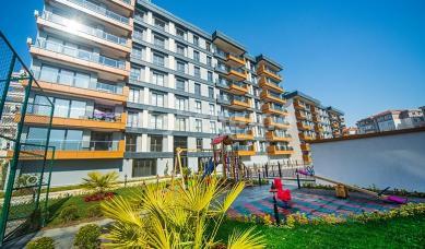 Sea view 3+1 apartment in the beautiful area of Buyukcekmece