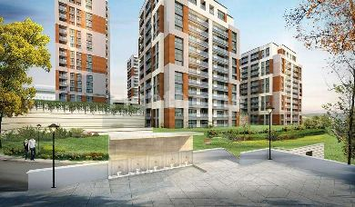 RH 166-The closest project to Istanbul new airport, luxurious apartments in a central location in Eyup district
