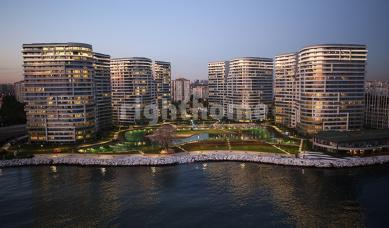 RH 393- Ready luxury project in Bakirkoy with direct sea view