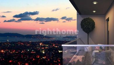 RH 368- Residential towers with flexible payment plans in Kartal area overlooking the islands