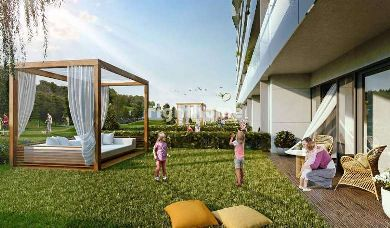 RH 131-Queen tower in Sisli, luxury apartments ready for housing and investment