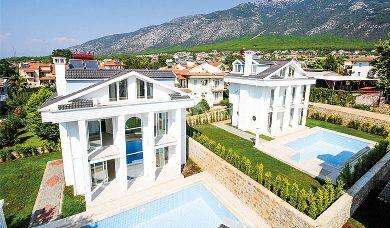RH 155-Omega white villas in Fethiye, Antalya