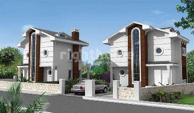 RH 157-White villas solit in Fethiye, Antalya