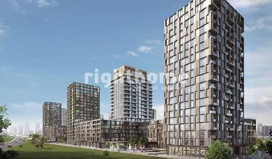 RH 67-Italian-designed apartments in Bahcesehir with a competitive prices, ready to move