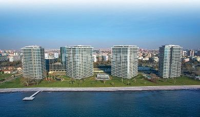 RH 204 - luxrious apartment with direct view on Marmara Sea in Bakirkoy