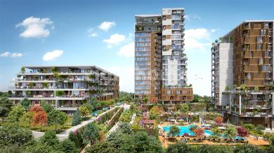 RH 321- An investment project under construction in an urban area