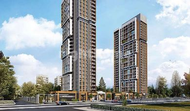 RH 161-Luxury towers in Basin Express under construction with installment plans up to 3 years